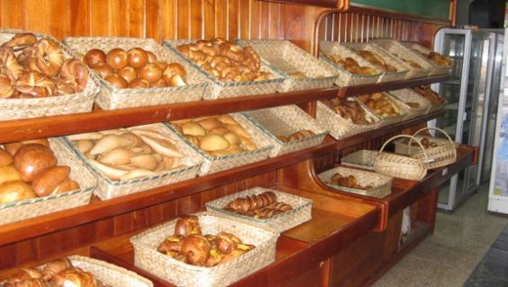 There are a couple of bakeries down the street from the volunteer home. Most breads are around a quarter and just heaven on earth. We recommend the chocolate bread!