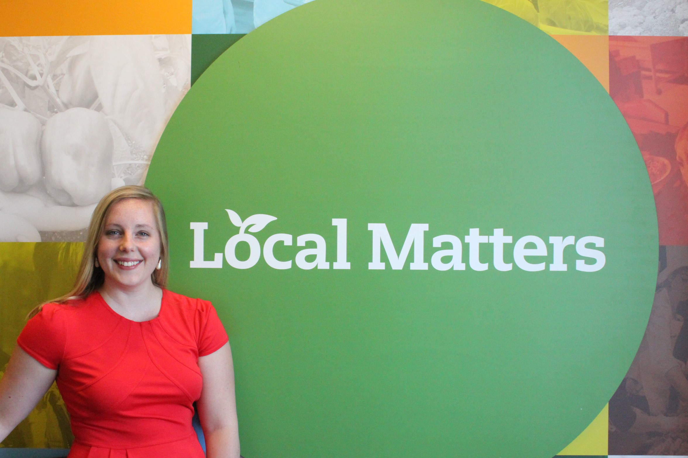 Sarah Wharmby, Local Matters Volunteer & Operations Manager