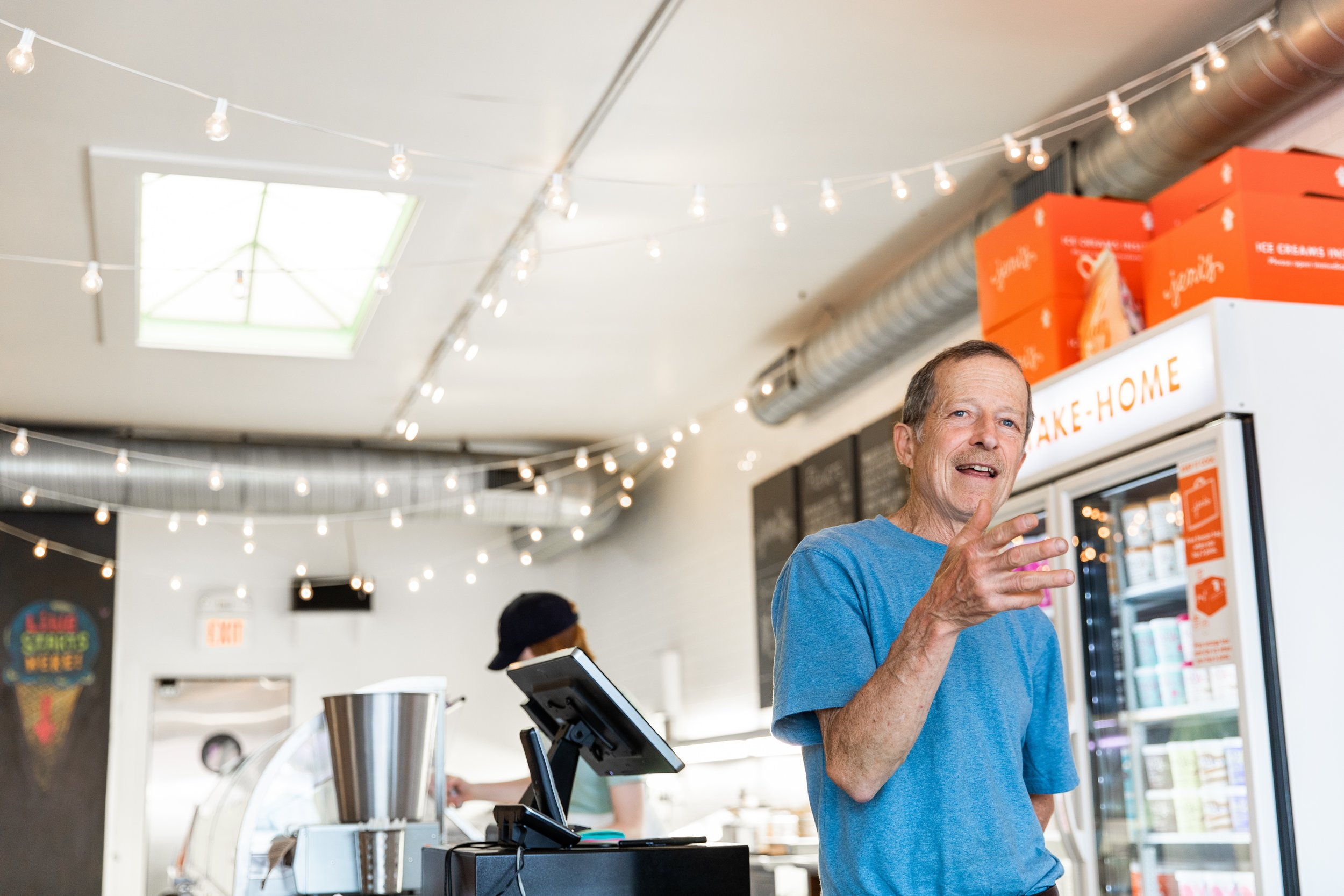 Ray Leard of Innovative Organics at Jeni's