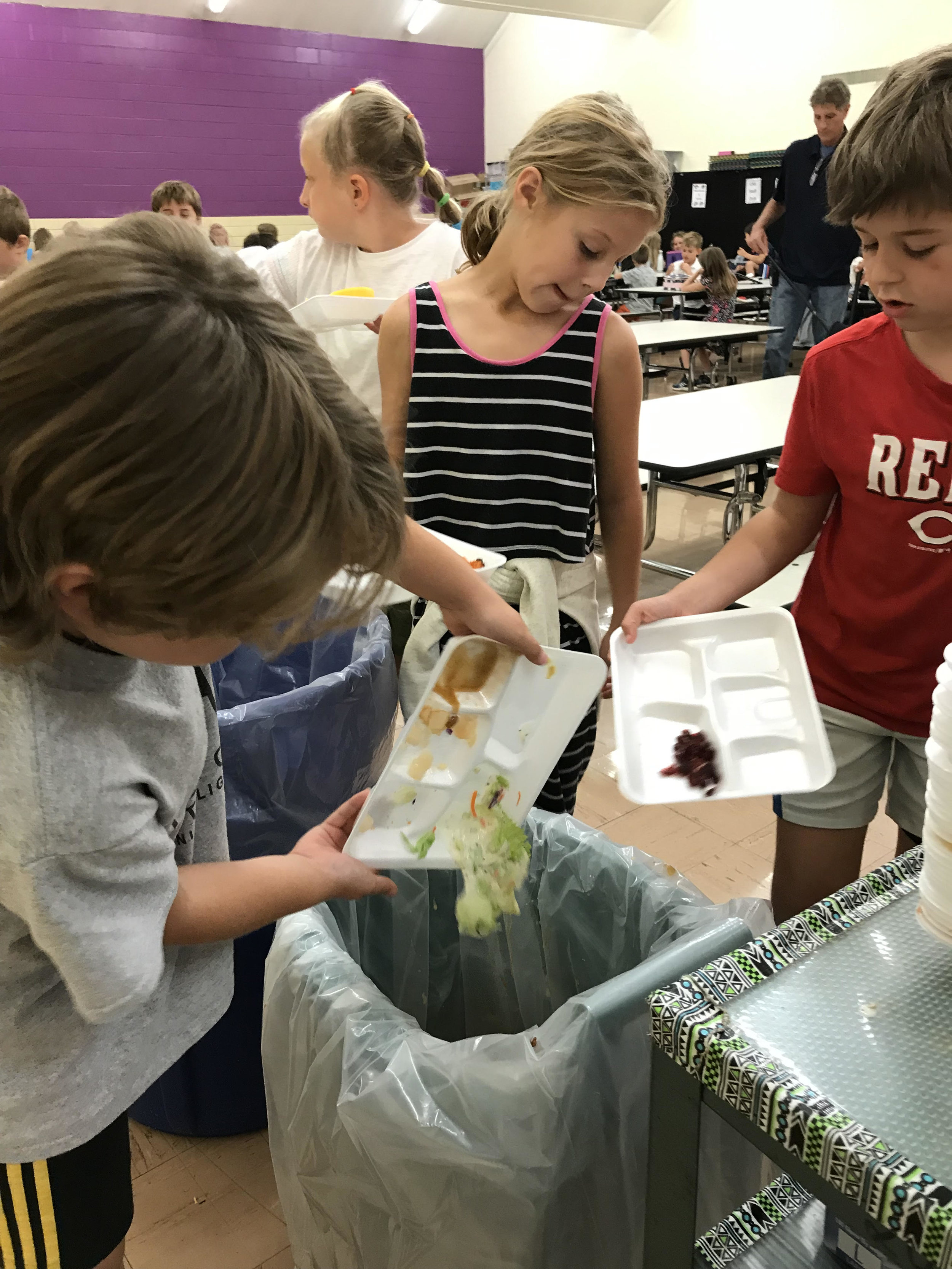 """""""The third graders are enthusiastic and really enjoy having the responsibility,"""" says Ann Mehl, Program Coordinator."""