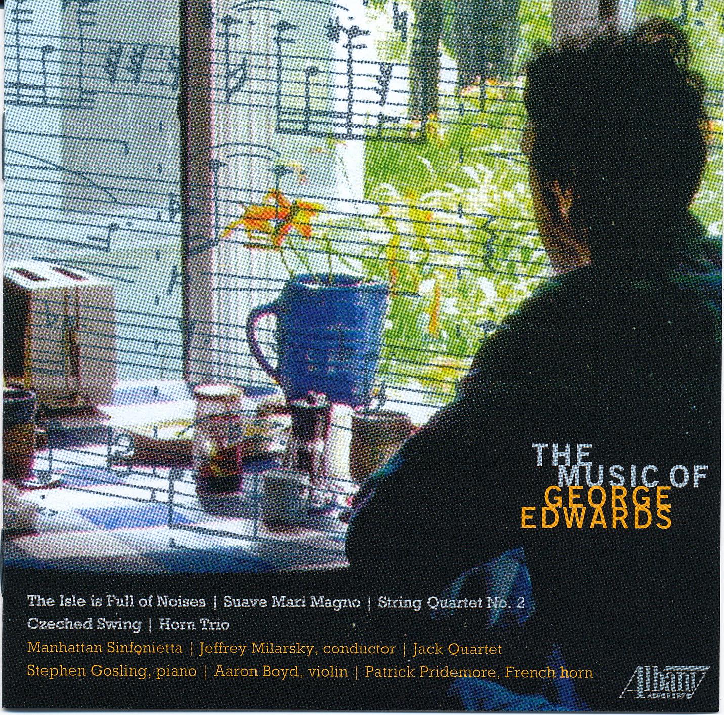 GEORGE EDWARDS   String Quartet No. 2    MORE INFORMATION