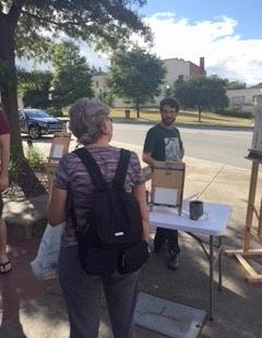 1st Street wine festival art cart.jpg