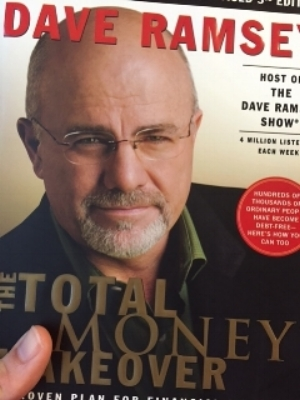 The  Total Money Makeover  book was big for me.  My wife already had all this stuff on lock.