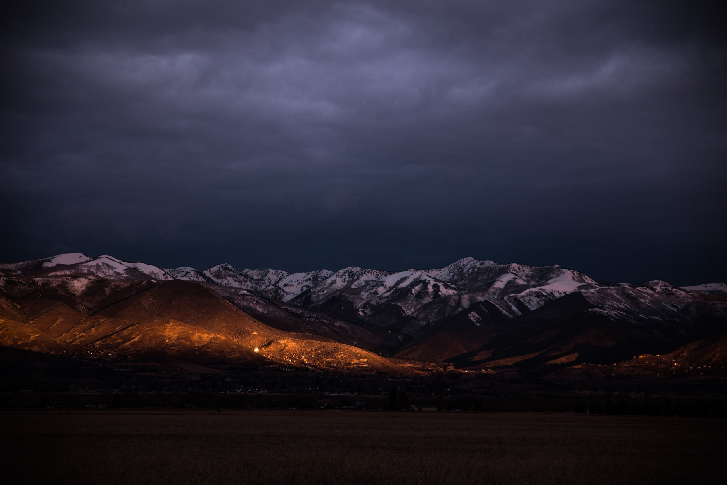 Wasatch Mountains.  Photo by Patrick Hendry on Unsplash.  Thanks Patrick!