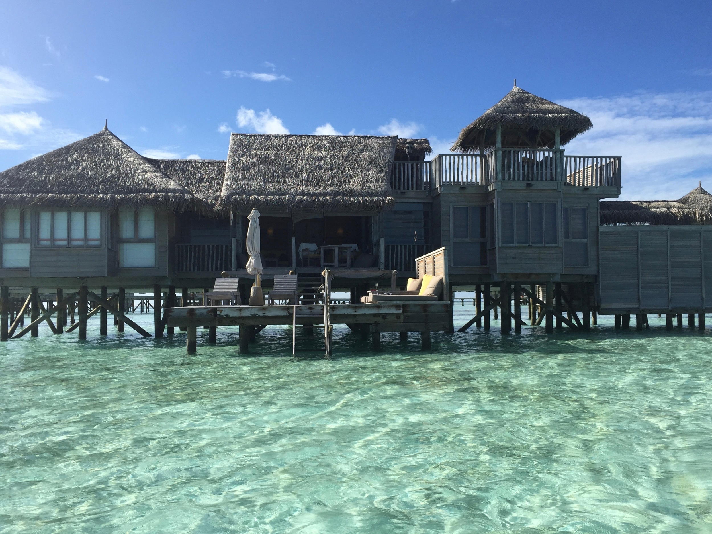 You backyard in the Maldives