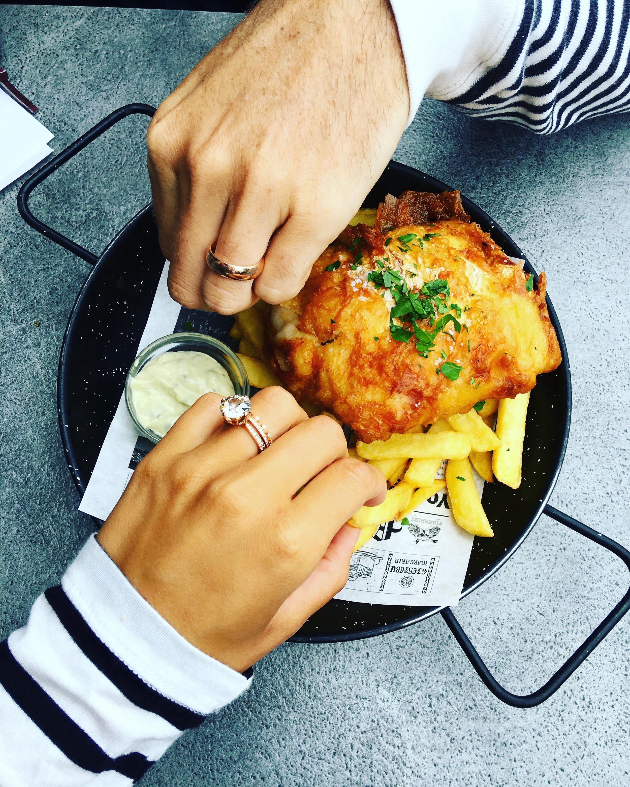 Mr. & Mrs. Fish & Chips