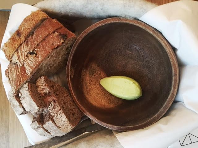 The bread board at Fabrik + minted butter