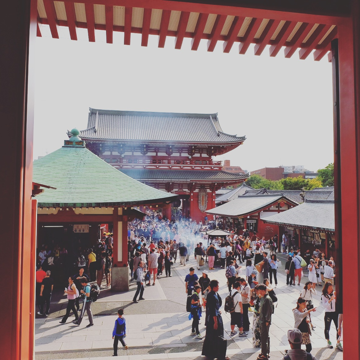 Tokyo's oldest temple in Asakusa
