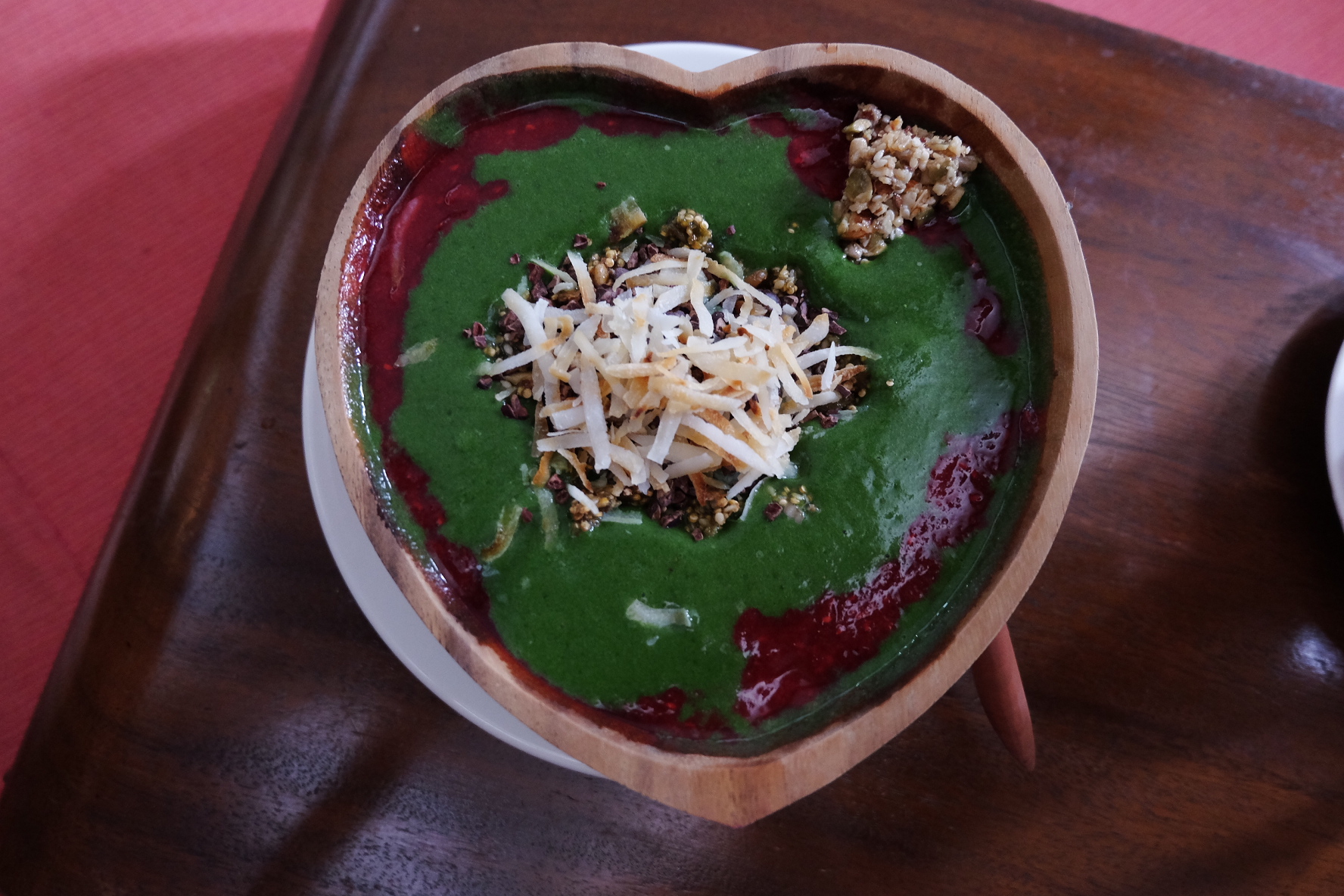 Green bowl at The Seeds of Life in Ubud