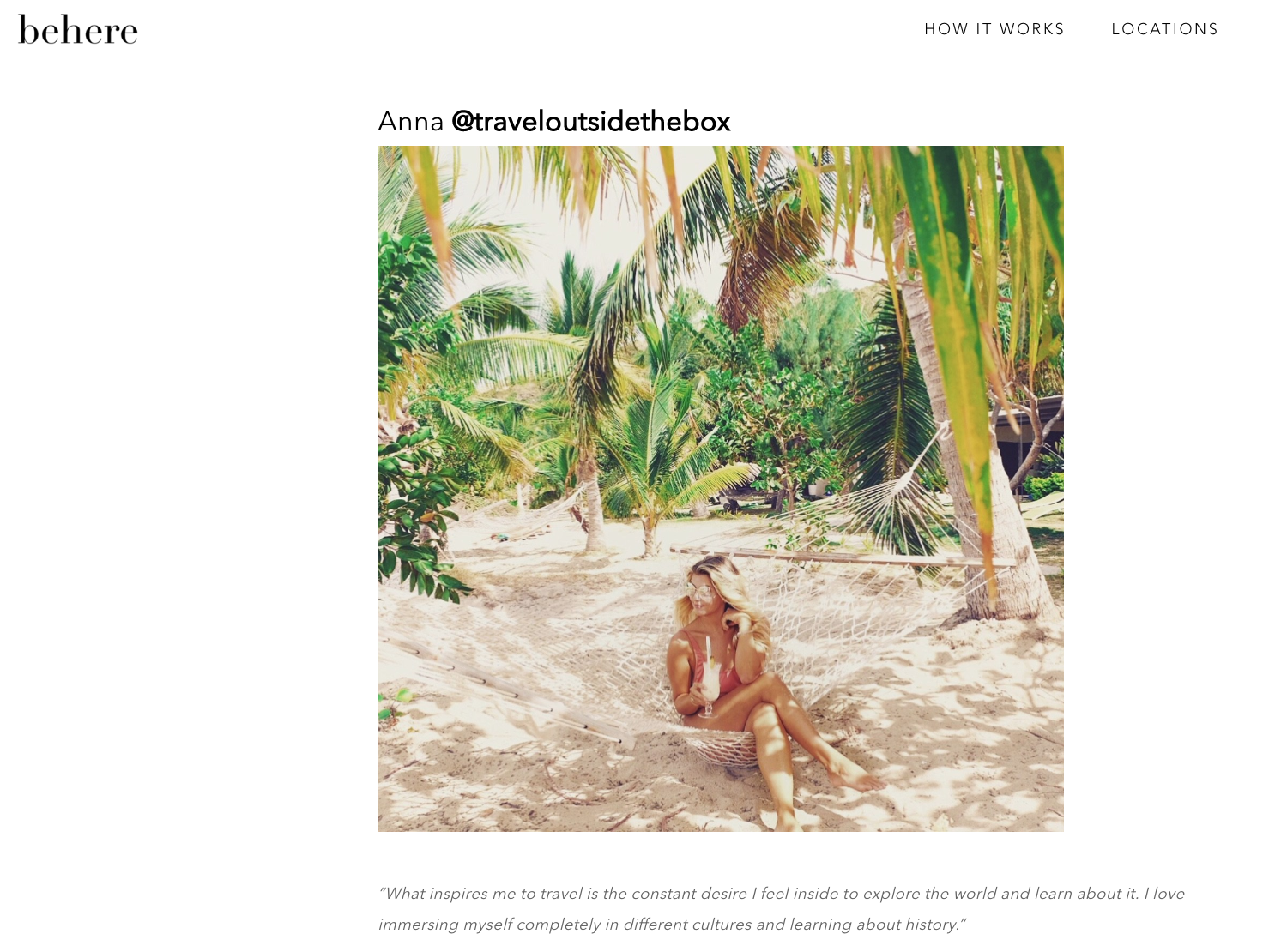 These Women's Instagrams Will You Give Serious Wanderlust This Winter  from BeHere
