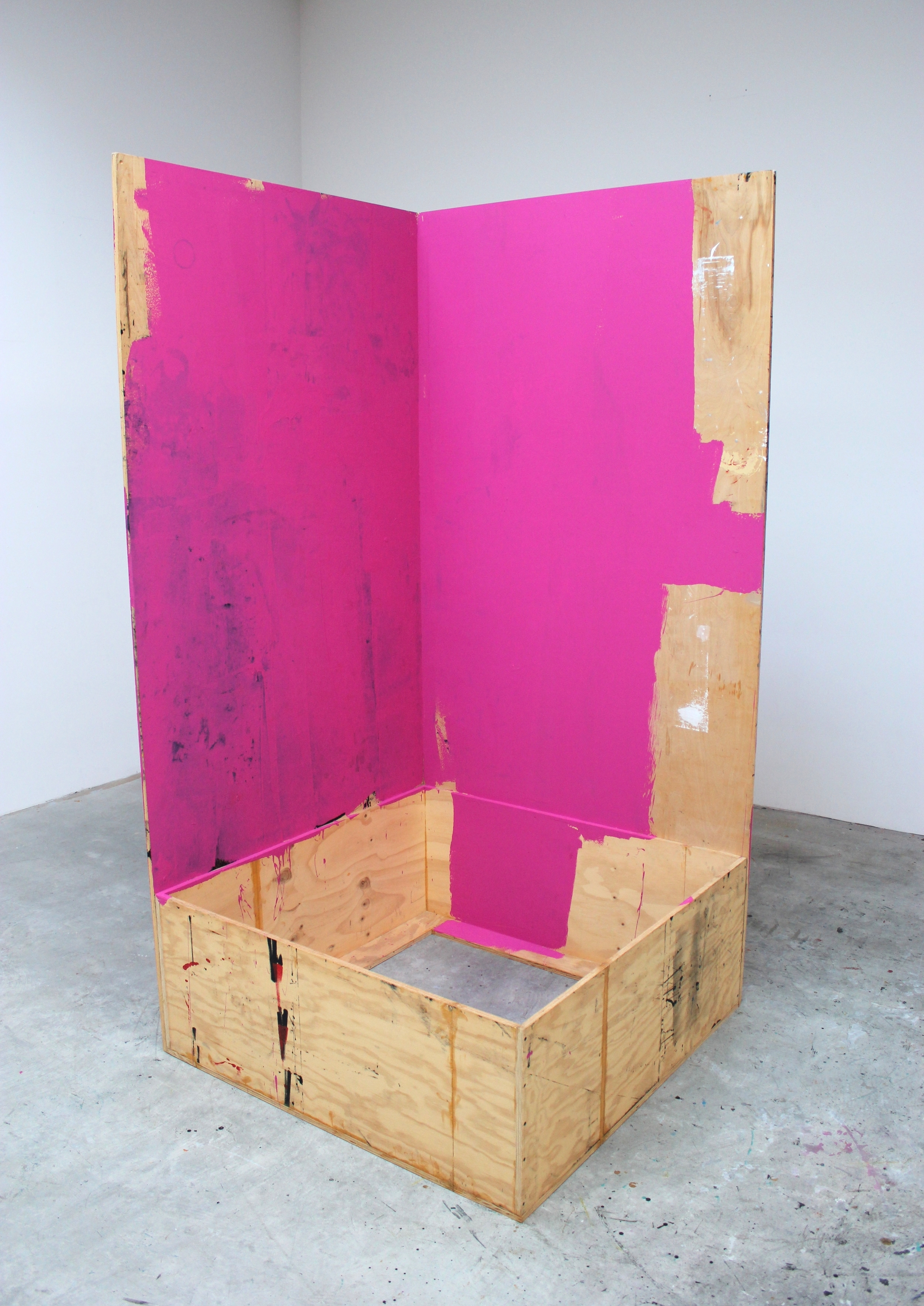 Open Container 2013 96 x 48.5 x 48 inches