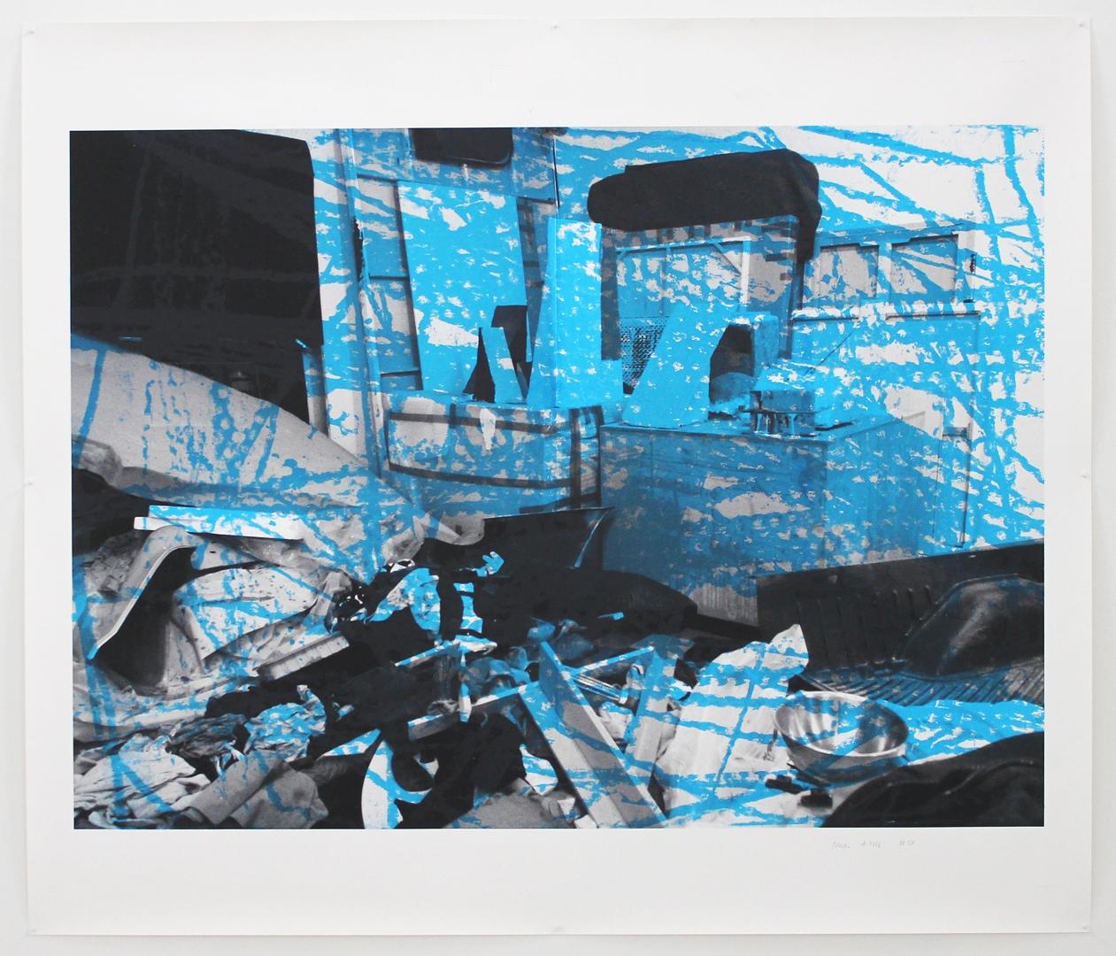 Photo-Print #38 (Studio #4) 2016 30.25 x 35.5 inches
