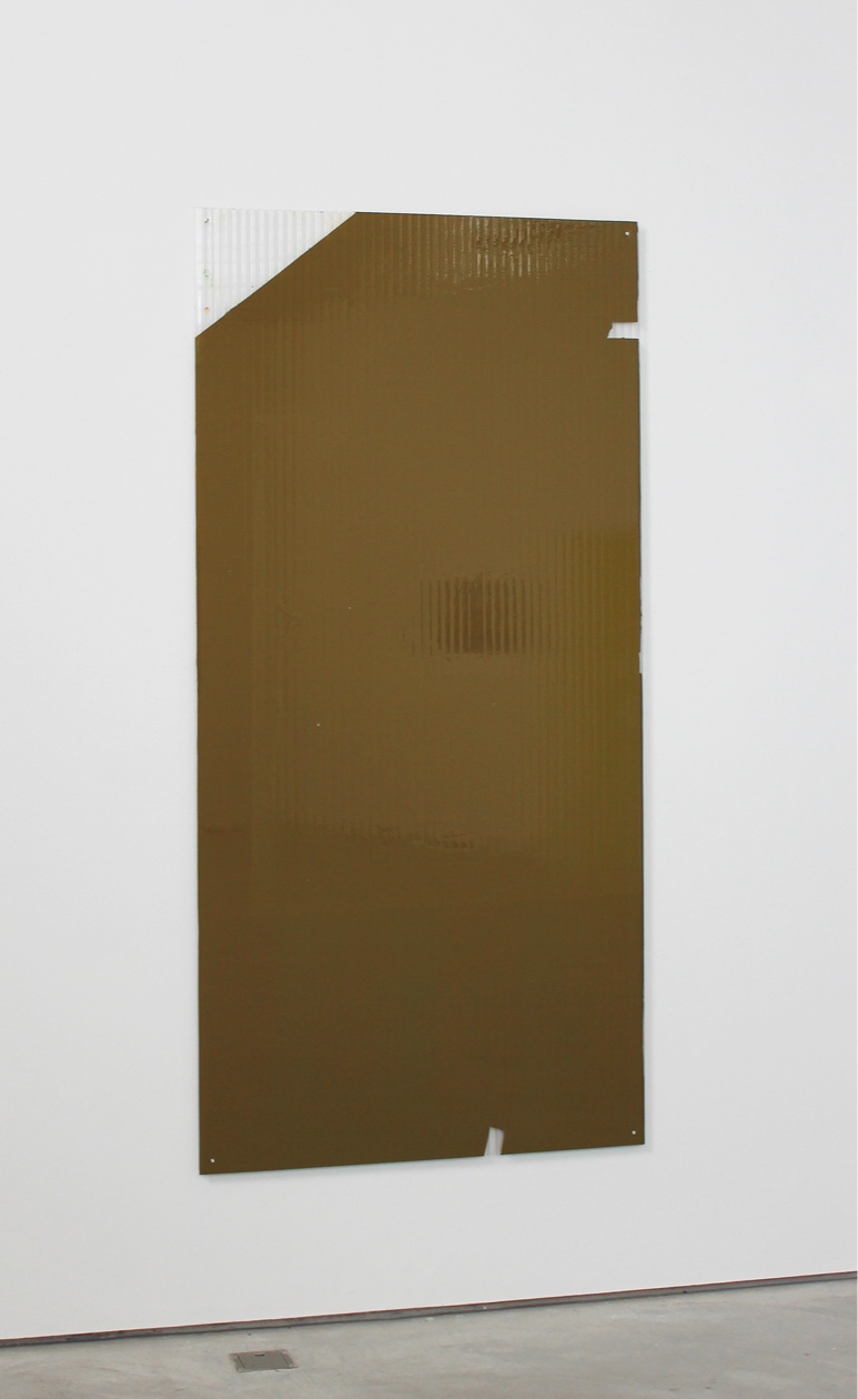 Panel Painting #3 2019 79.375 x 38.6875 x 0.625 inches