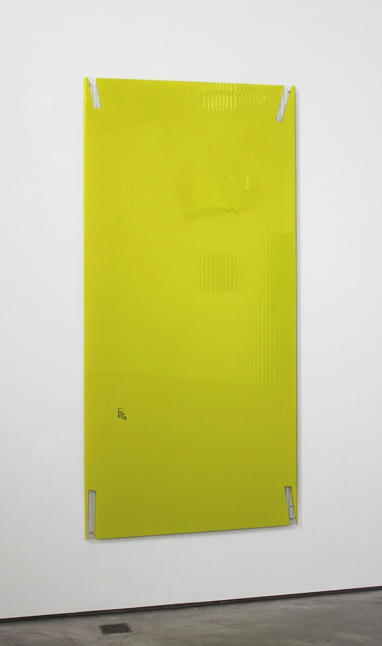 Panel Painting #2 2019 79.375 x 38.6875 x 0.625 inches