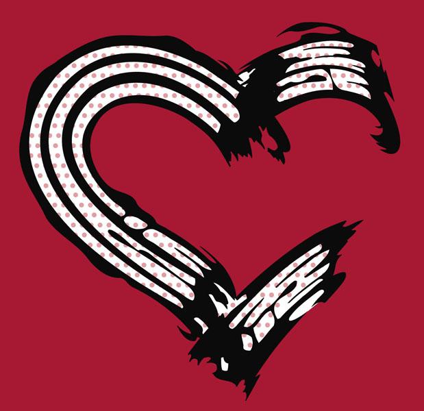 Tee Shirt Design.  Project:  Lovegirl.    Client:  Lovegirl.
