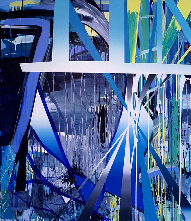 The Gate 2011 Acrylic on canvas 169 x 146 cm
