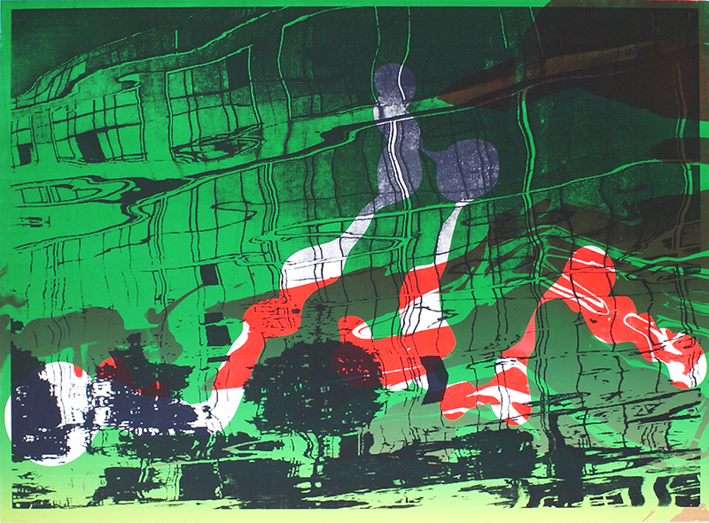 Silk-screen (2011) 56 x 76 cm
