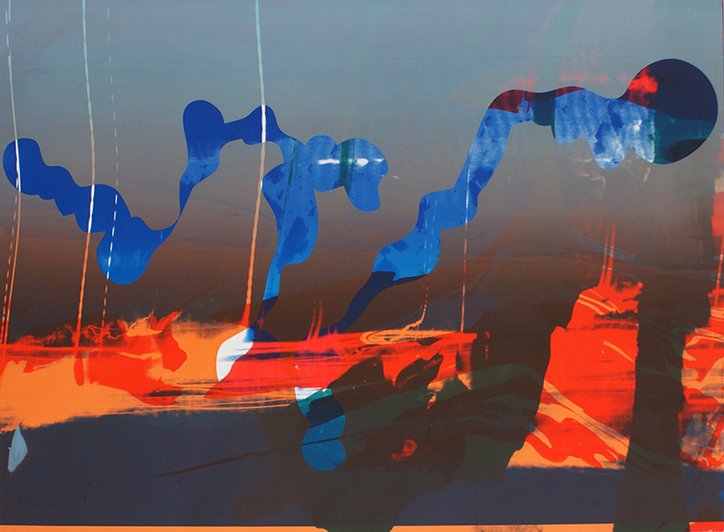 Silk-screen (2011) 56 x 76 cm E.A