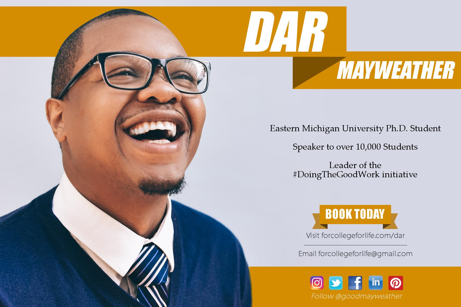 Doing The Good Work-Dar Mayweather