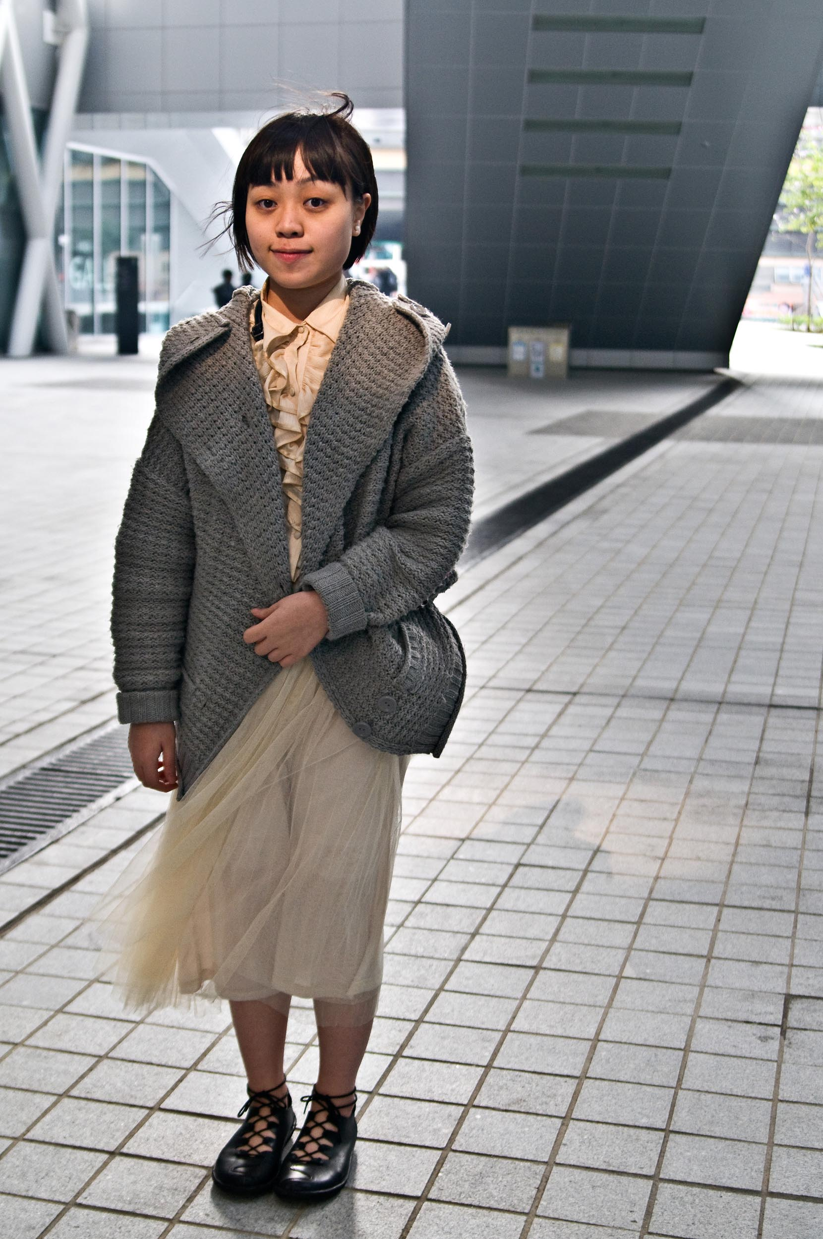 """Zidira, Fashion Image Design   """"My dressing theme today is little fairy girl. I am inspired by fantasy. I want to be an event management in the future, but not for fashion because the fashion industry is so dark. """""""
