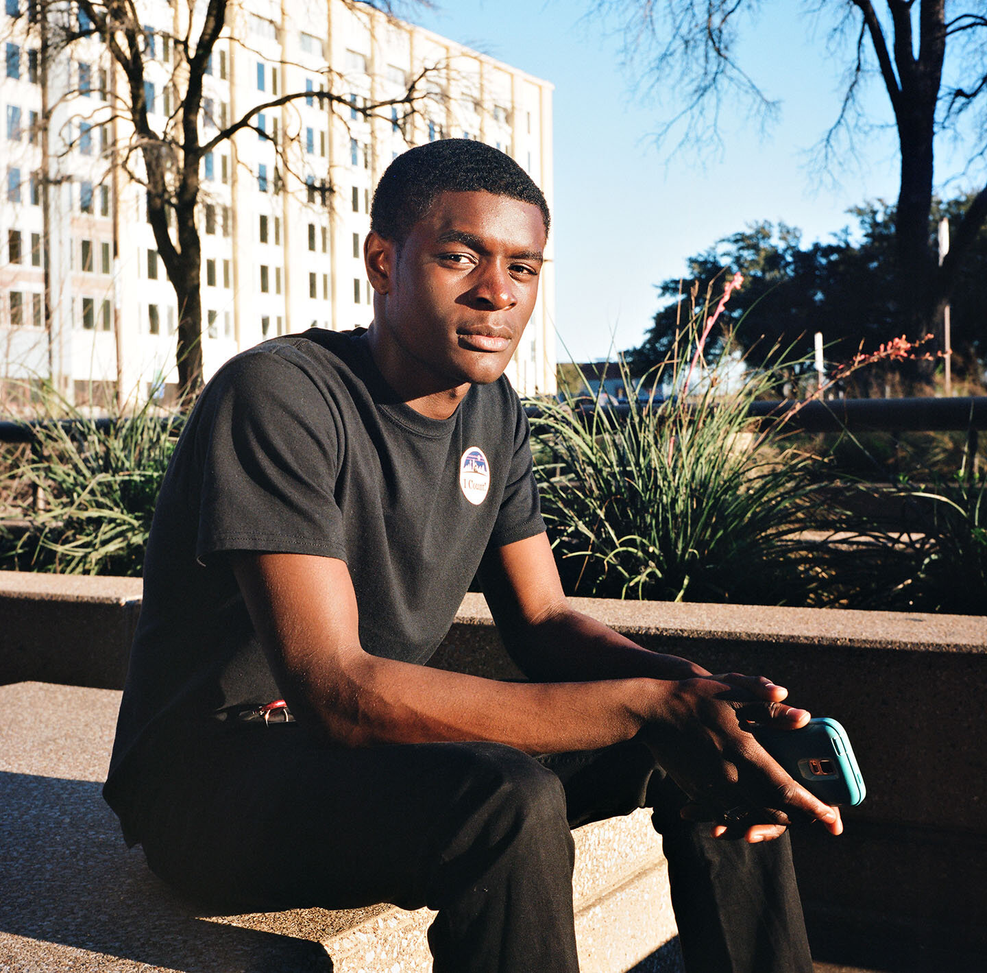 "Kionate. Dallas, TX  ""Being homeless is something you wouldn't want to be. Devastating. It gives you a deep, empty feeling inside."""