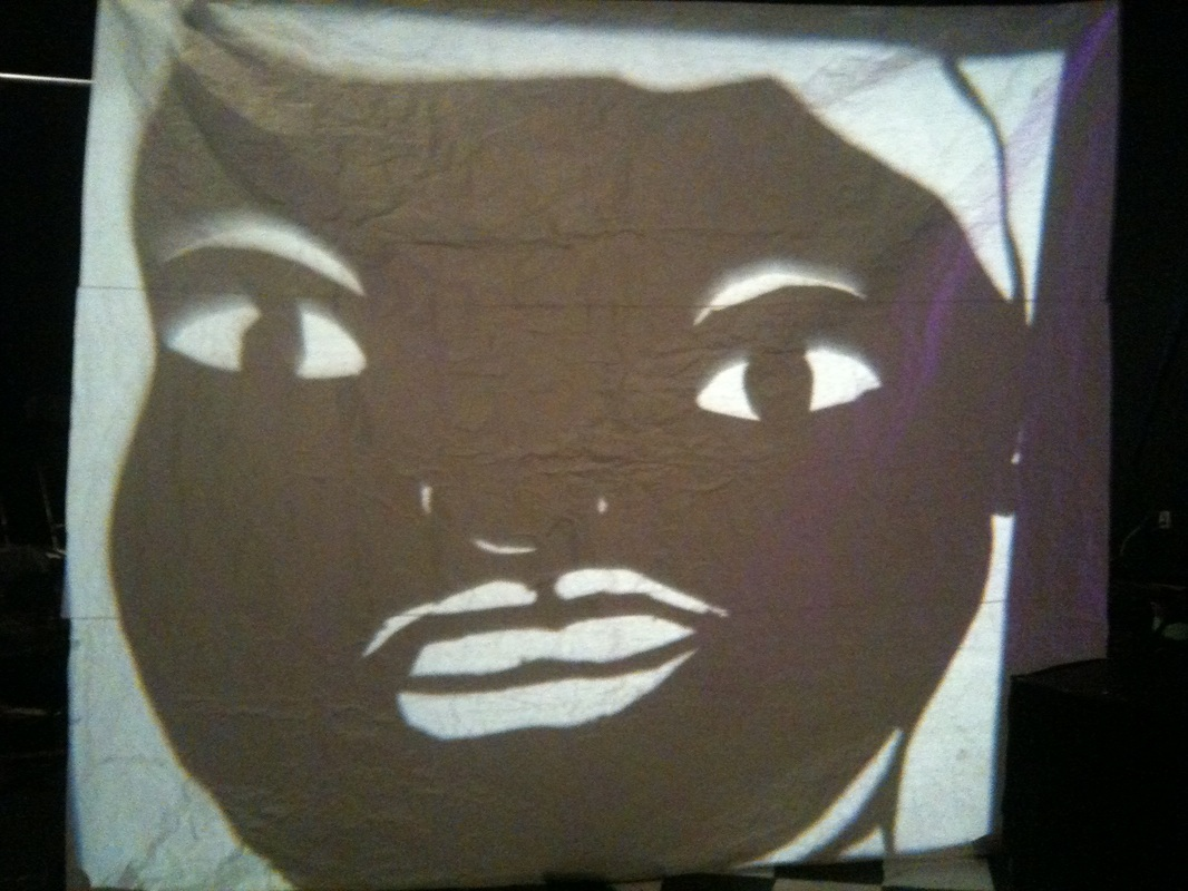 Puppet shadow casting