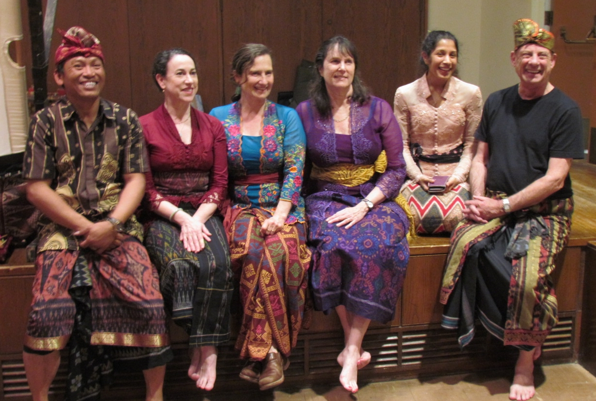 (Left to Right) Photo of  Dewa Berata , Carla Fabrizio, Sarah Willner, Lisa Gold, Monali Varaiya, & Larry Reed (2017)