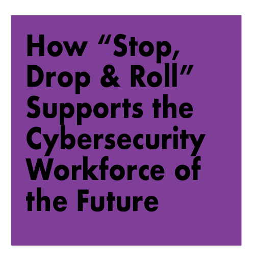 "How ""Smokey The Bear Forest Fire"", ""Stop Drop and Roll"", and ""Quit Smoking"" Campaigns Can Support the Cybersecurity Workforce Needs of the Future"