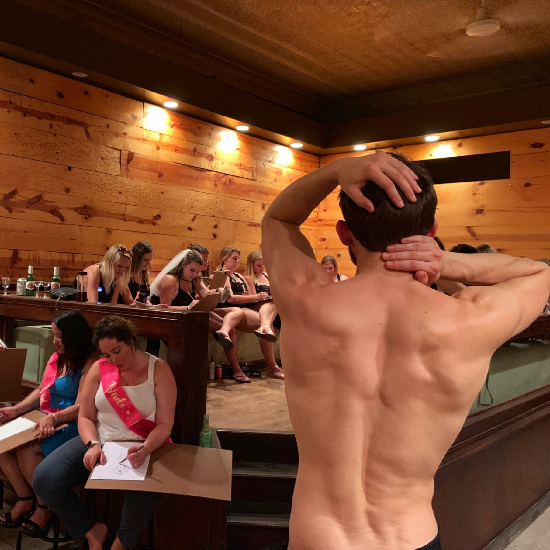 Bachelorette Party: Drinks, Painting & Nude MALE Model