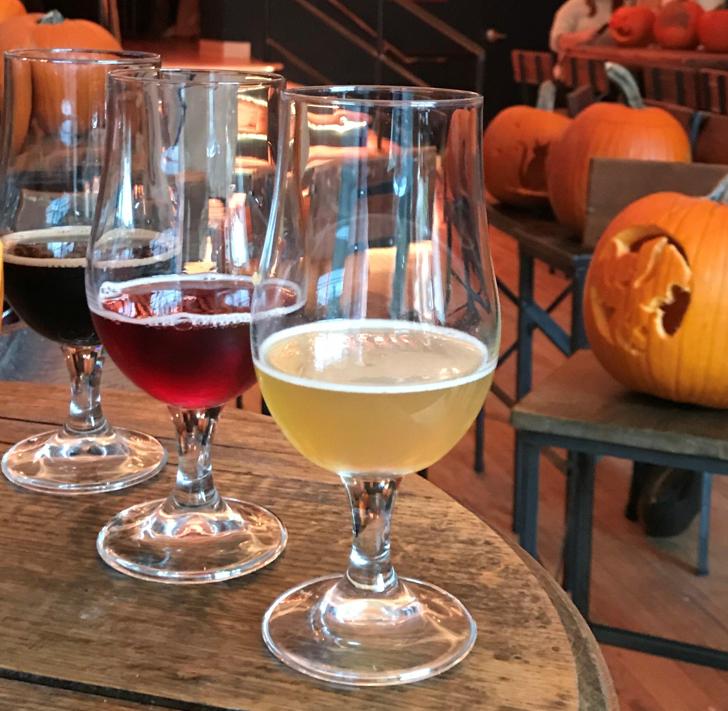 BREWS AND BOOS: Pumpking Carving & Beer Tasting