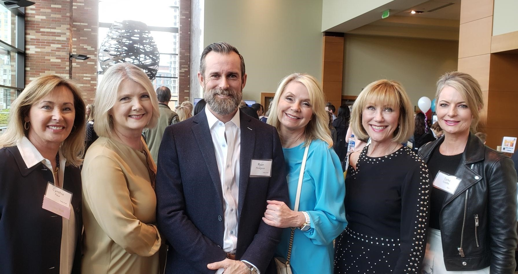 Earlier this year I had the pleasure of attending a luncheon for the Bellevue Schools Foundation with some of my colleagues.