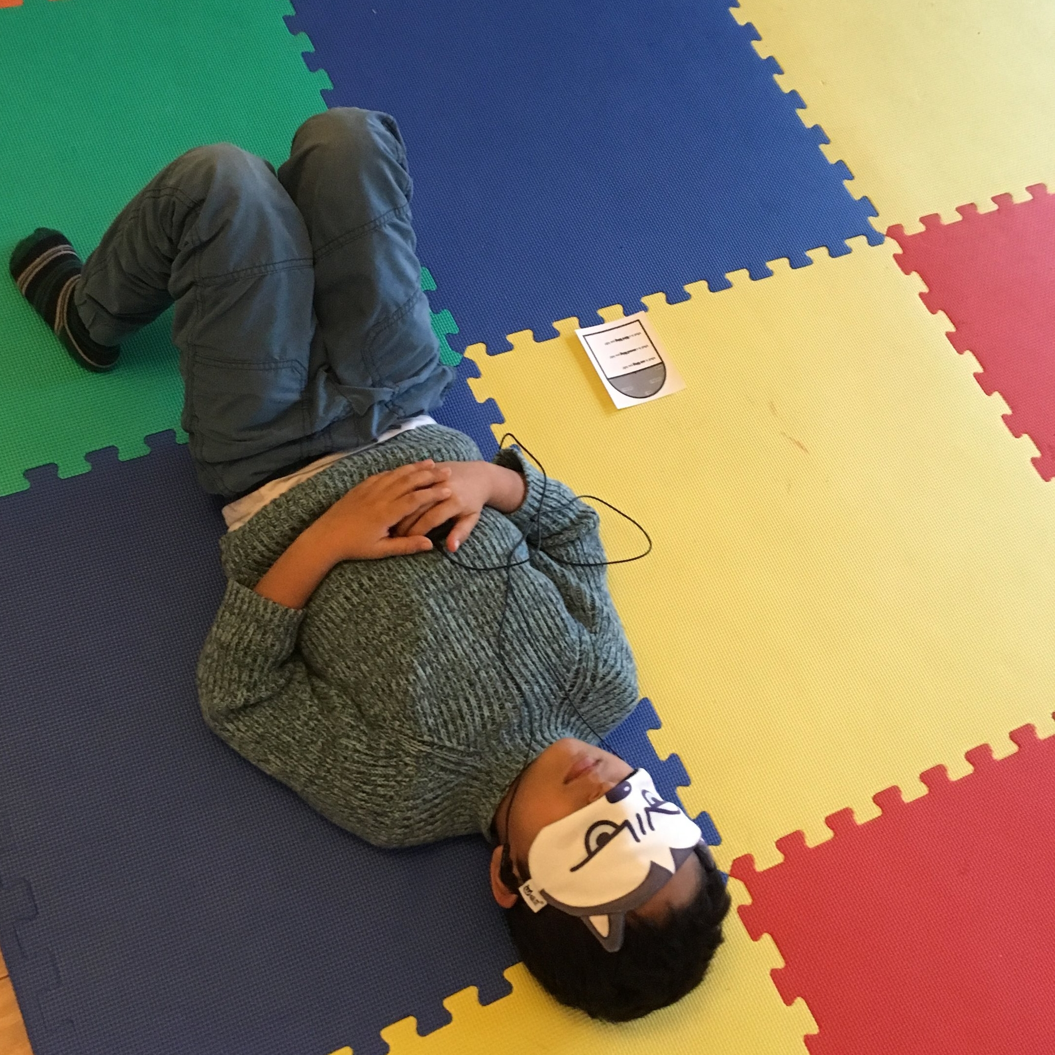 """Mindfulness and biofeedback helps us to """"listen in"""" to the signals inside our body and mind."""