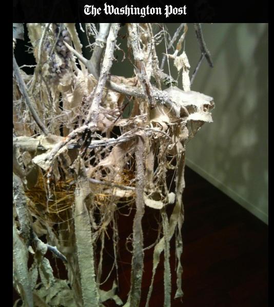 Sculpture  WOMB  on exhibit in DC.