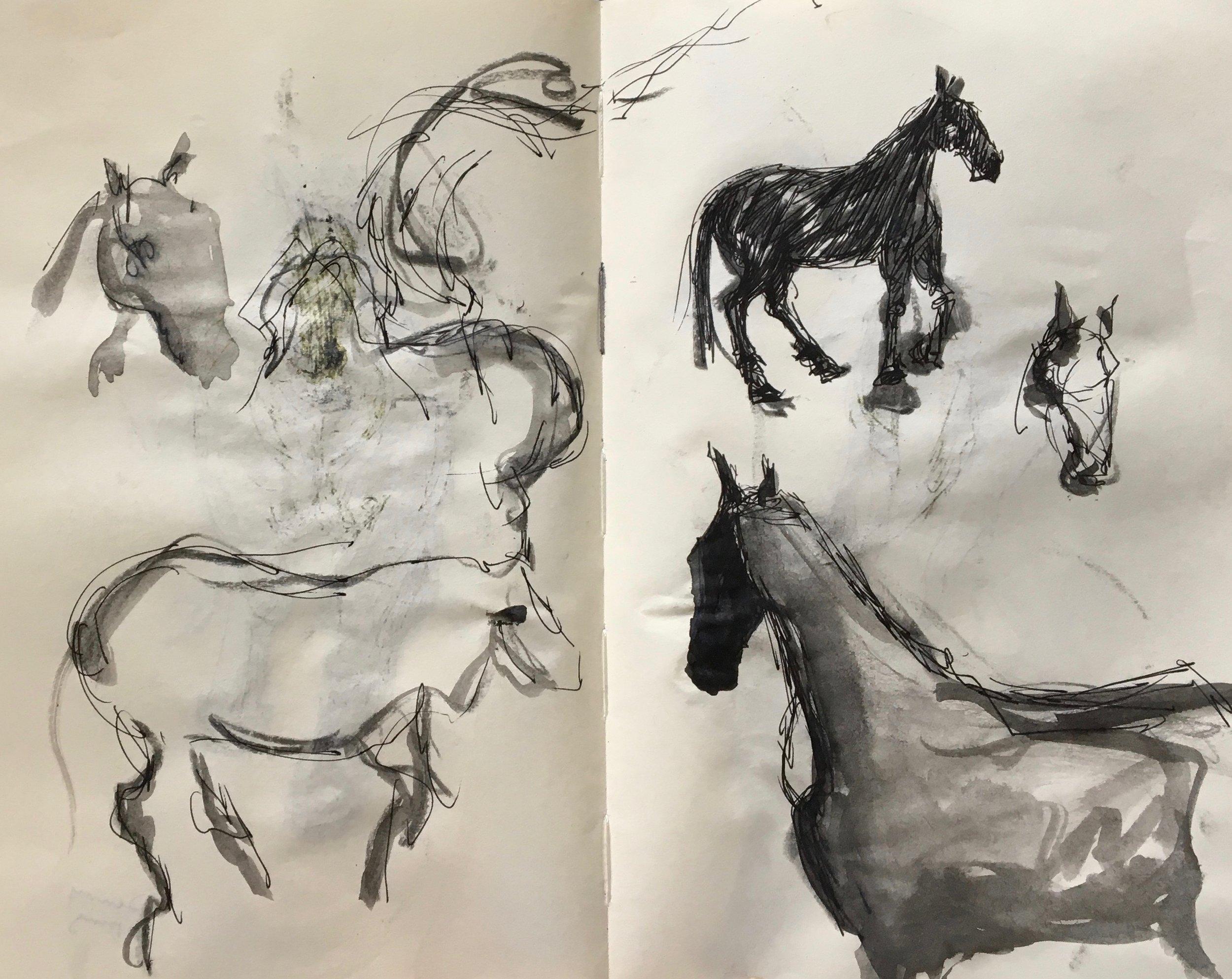 Sketching...
