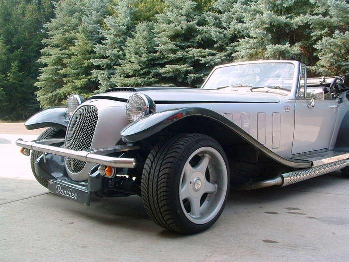 1988 Panther Kallista fresh out of customs...