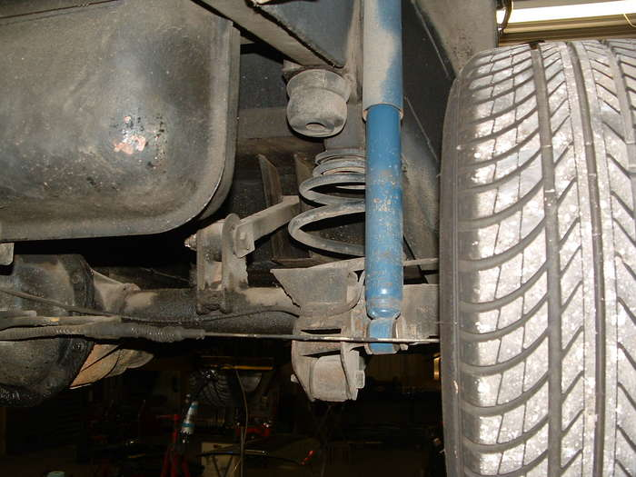 We will change the springs and shocks to adjustable coilovers