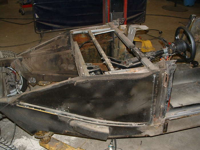 These side panels will be removed to make room for the sidepipes.