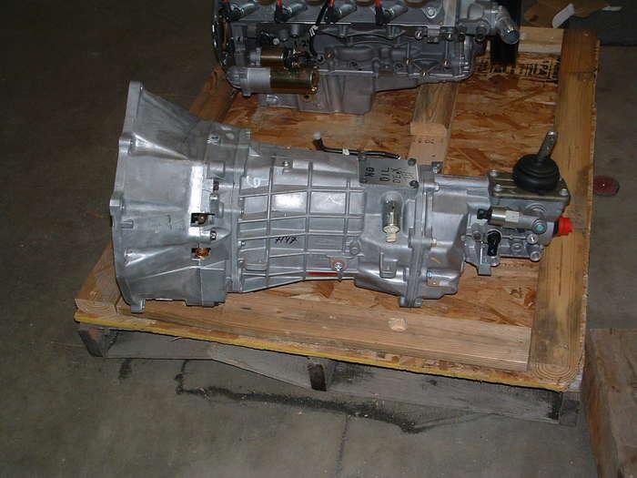 New 6 speed transmission