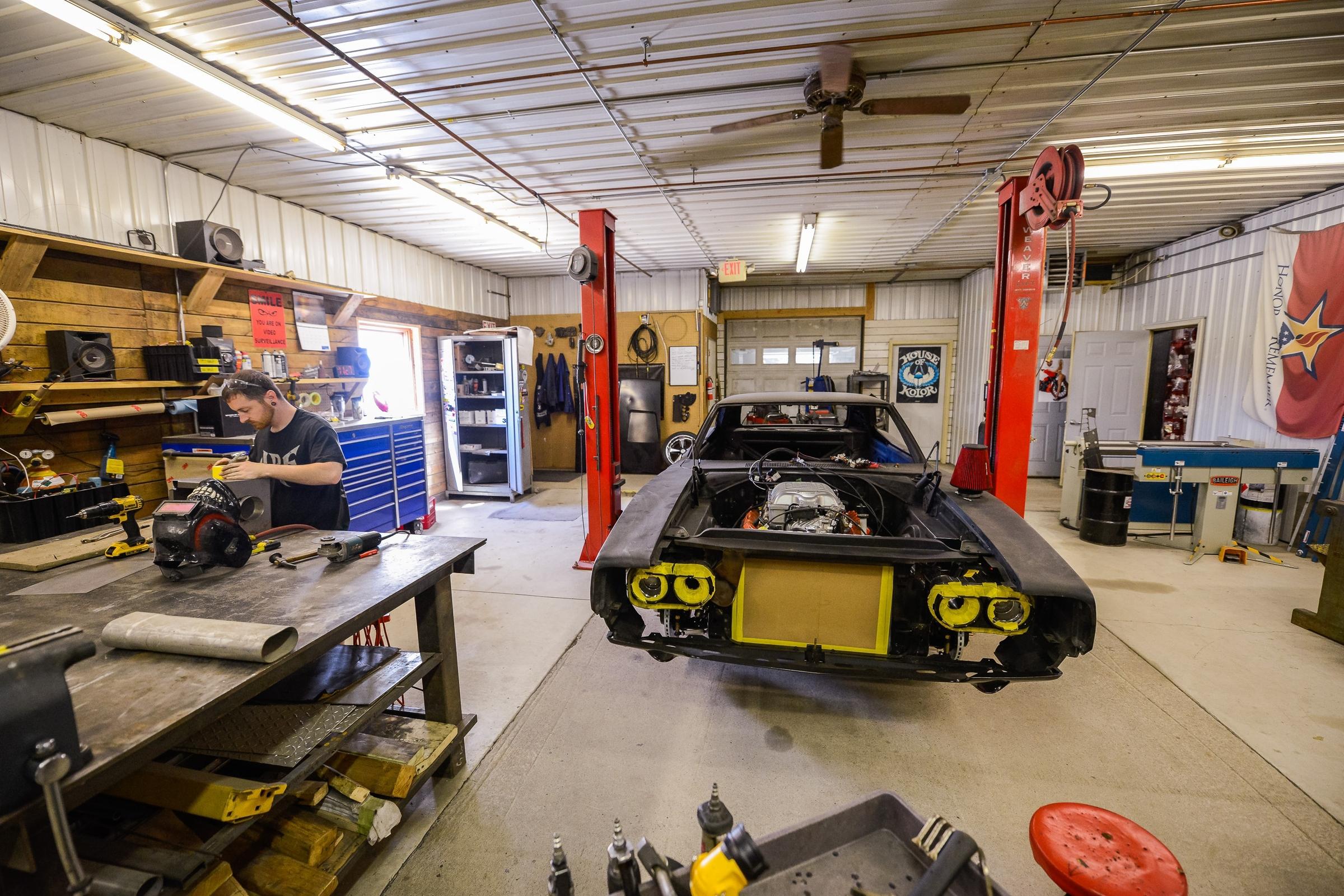 Minnesota Hot Rod Factory Metal Shop