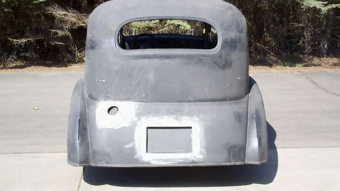 1935 Chevy Minneapolis Hot Rod Custom Car Restoration