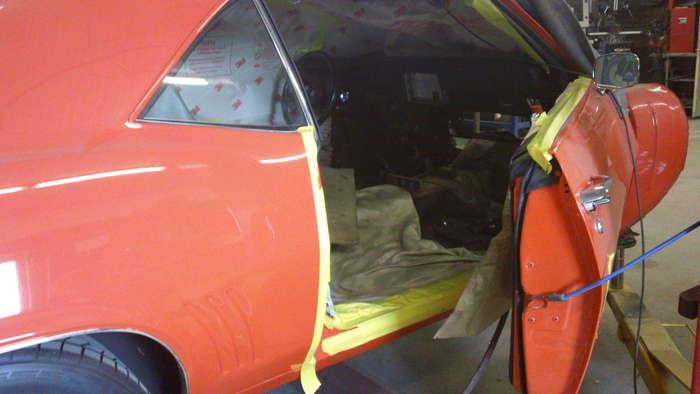 69 Camaro Minneapolis Hot Rod Custom Car Restoration