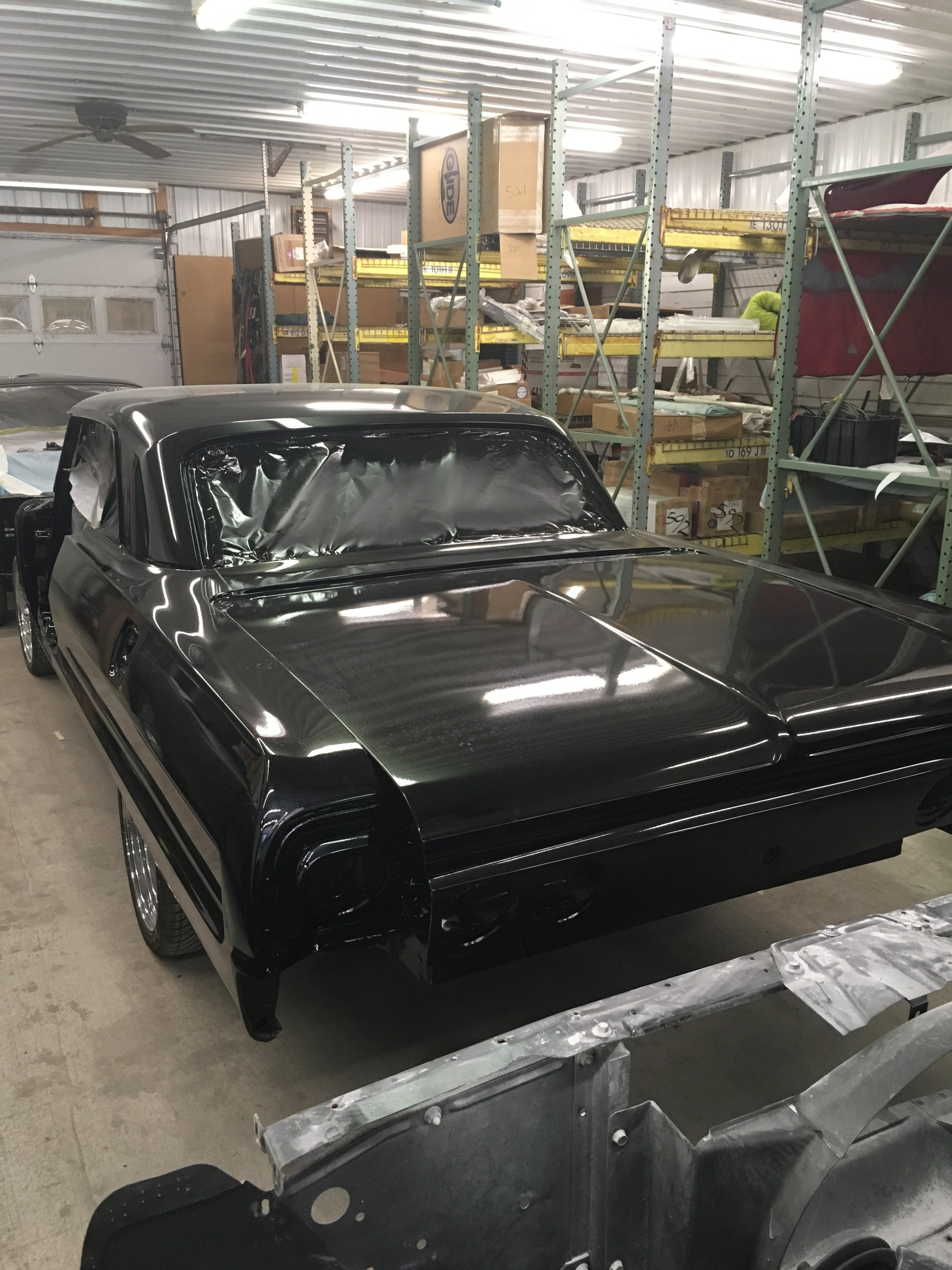 1964 Impala buffed