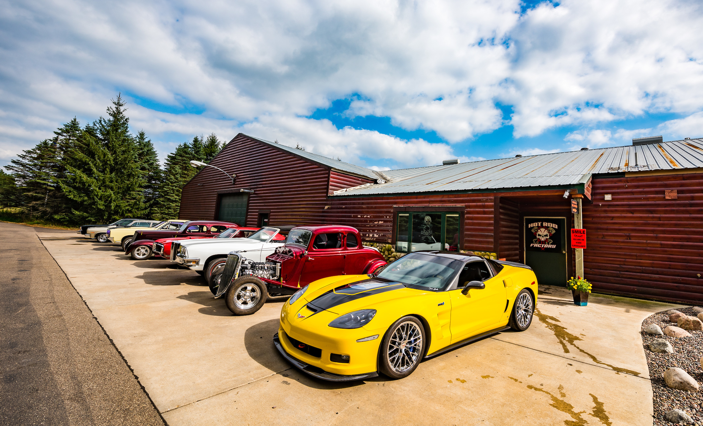 Minnesota Hot Rod Factory Headquarters and office