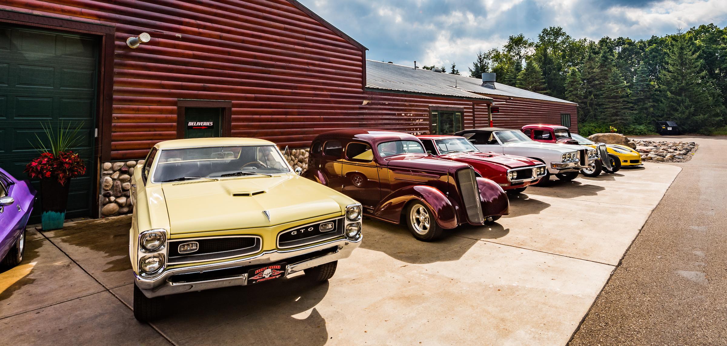 Minnesota Hot Rod Factory Pontiac GTO