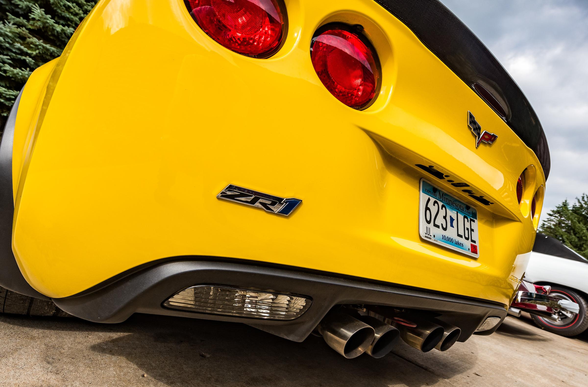 Minnesota Hot Rod Factory Corvette