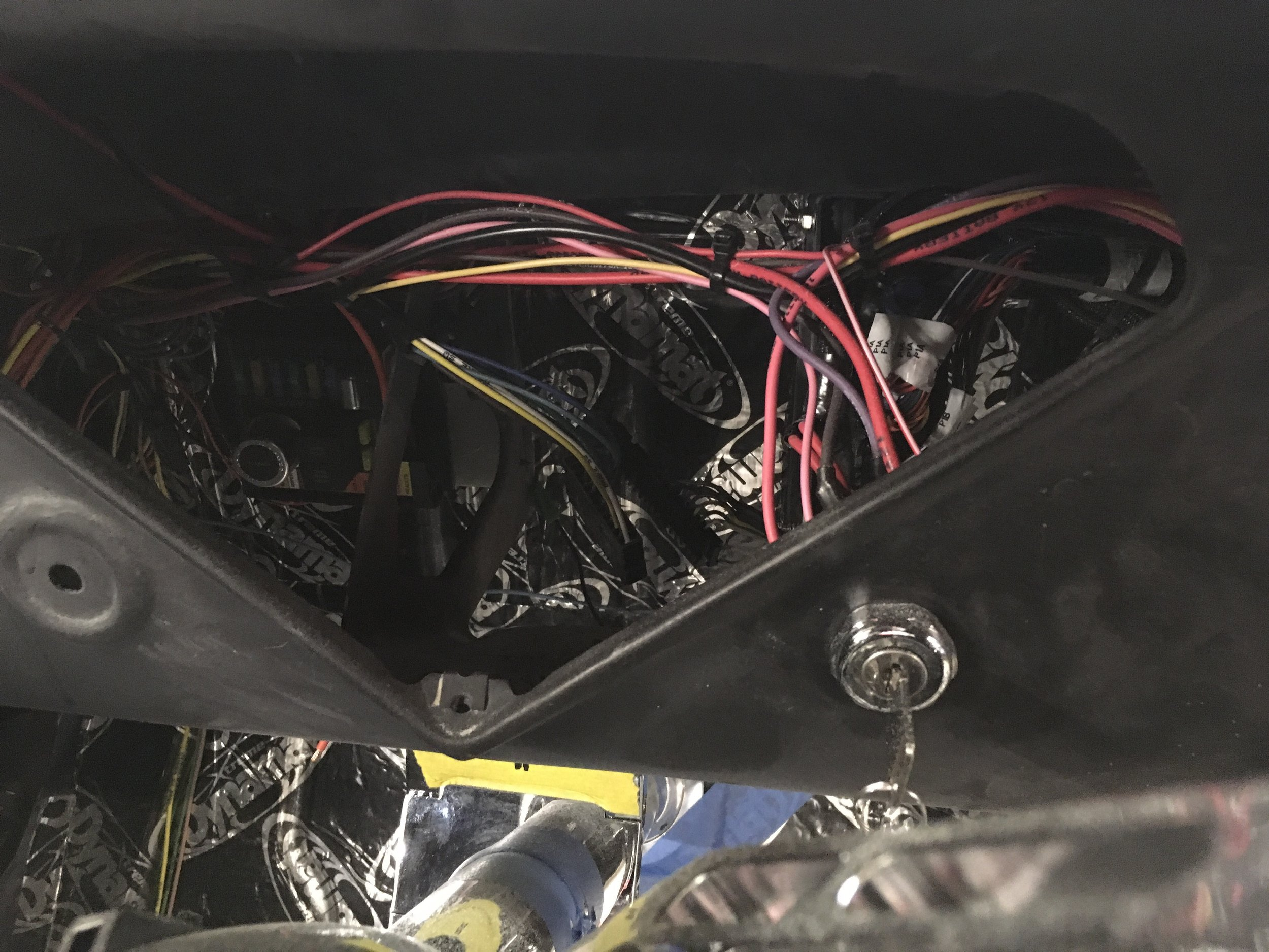 Wiring for vintage air and computer, 55 Chevy pickup.