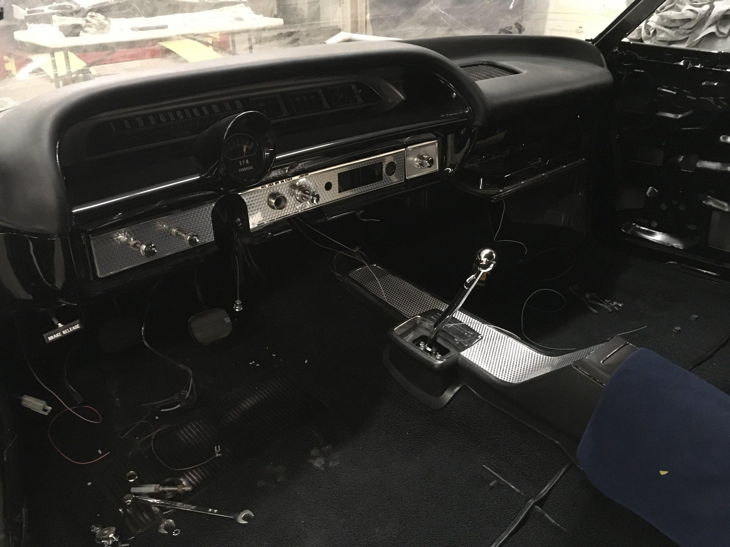 impala 64 SS dash