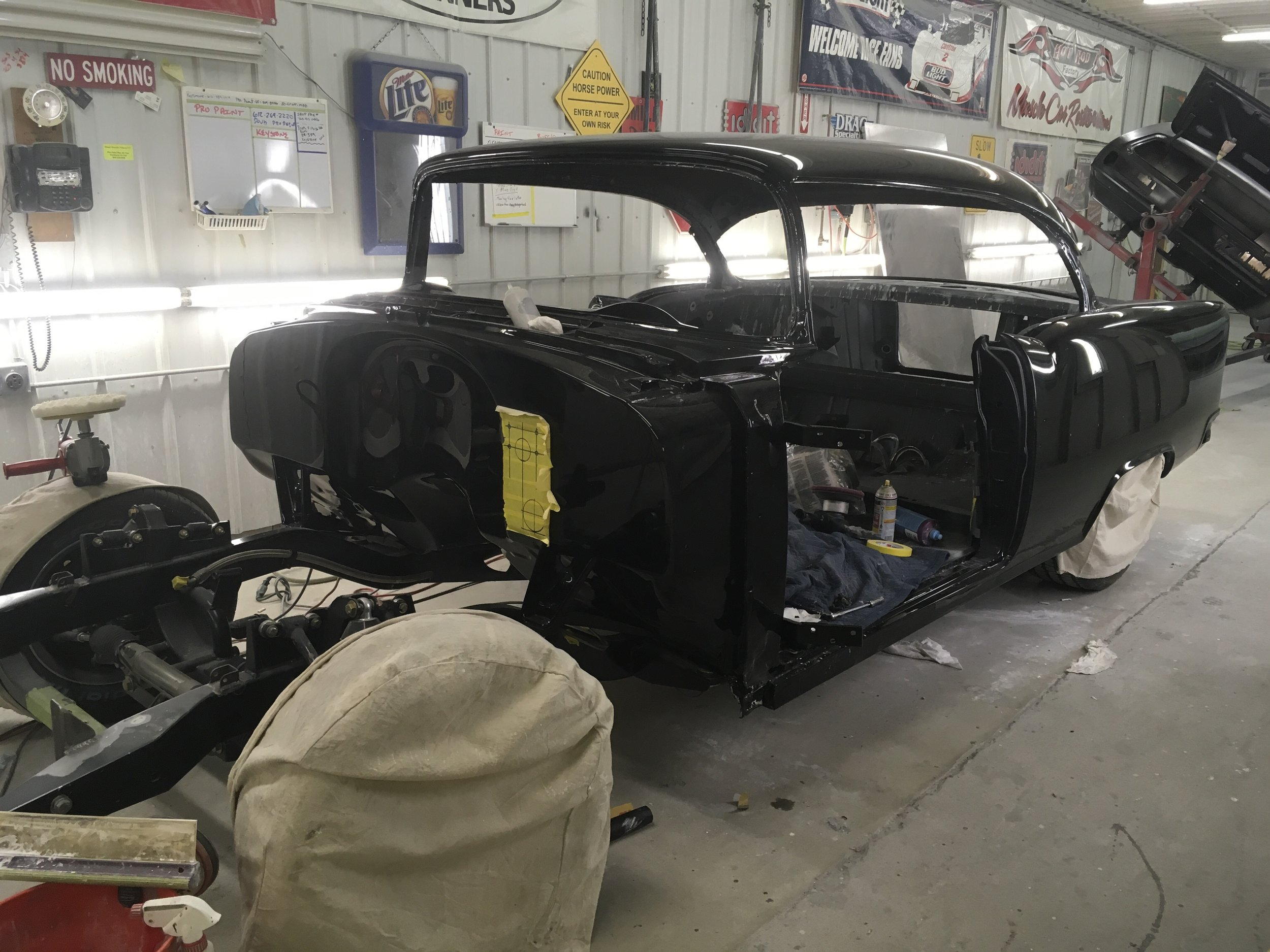 Buffing 1955 Chevy