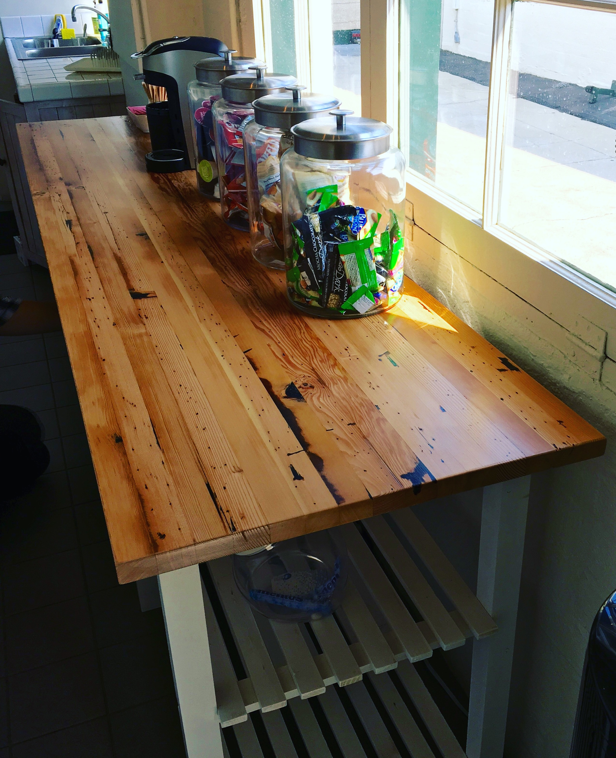 Reach Agency Reclaimed Farmhouse Kitchen Table