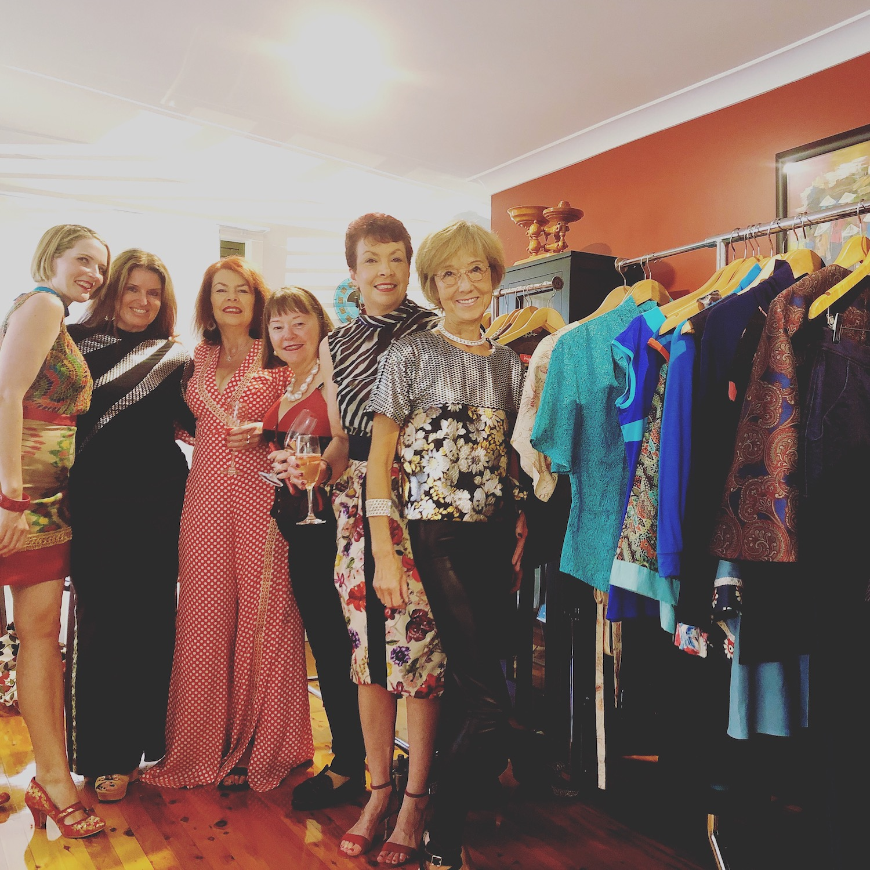 Photo from the last PenelopeRED fashion event showcase.